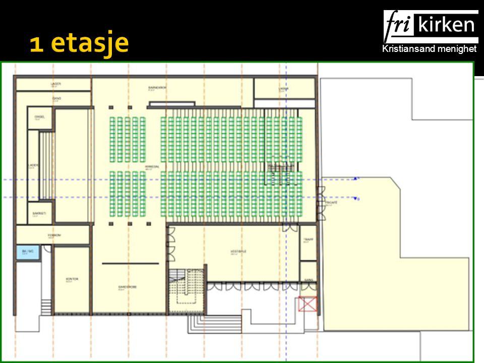Kristiansand menighet 1 etasje