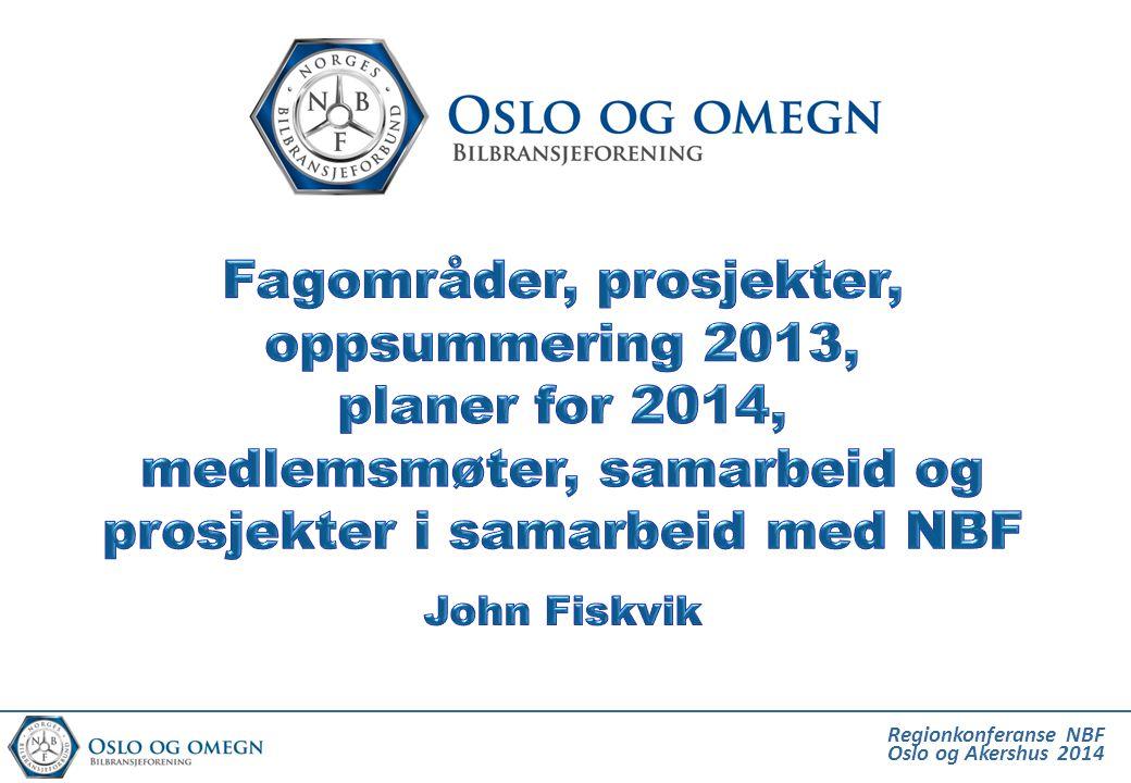 Regionkonferanse NBF Oslo og Akershus 2014 Regionen utvikles raskt til ett urbant område med felles utfordringer og etter hvert nærmere 2 mill.