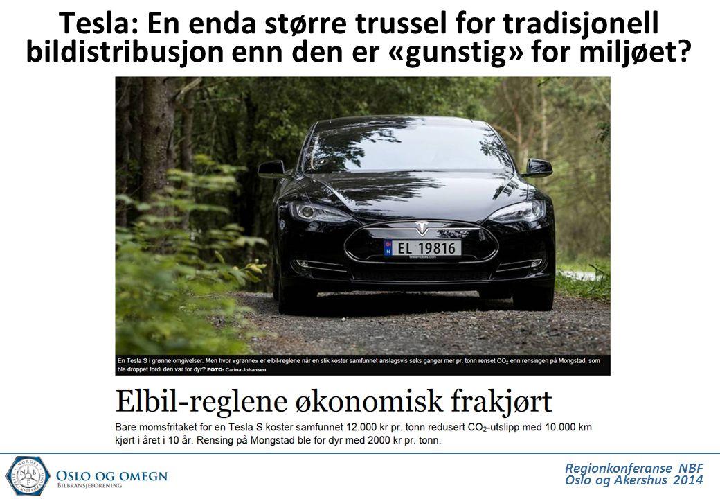 Tesla: En enda større trussel for tradisjonell bildistribusjon enn den er «gunstig» for miljøet?