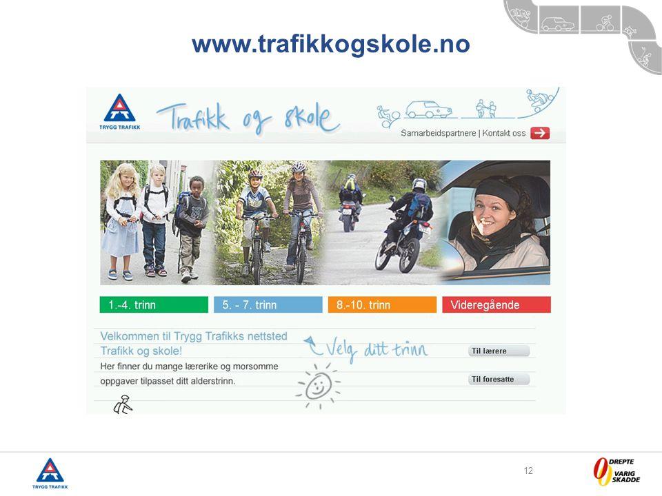 12 www.trafikkogskole.no