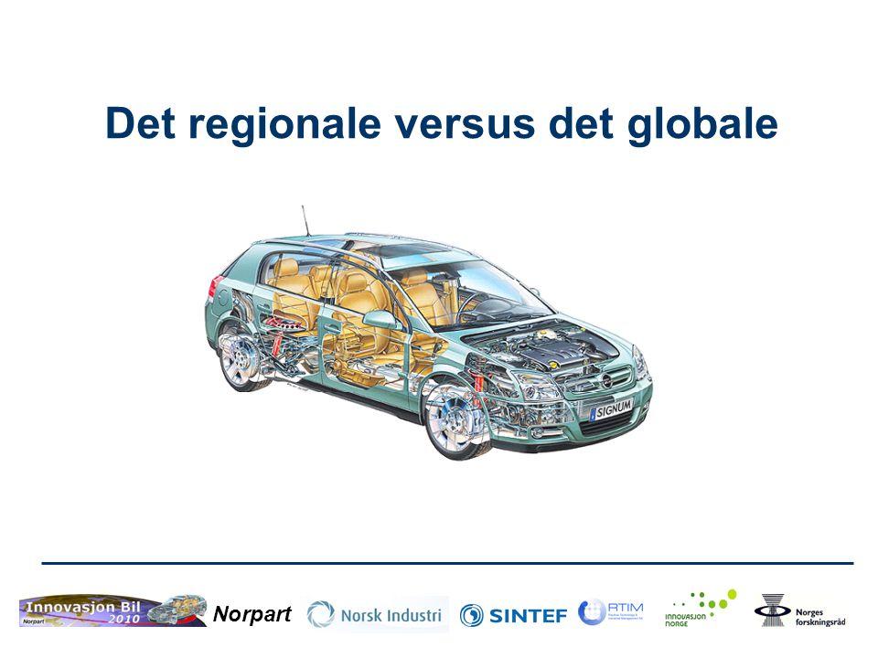 Norpart Det regionale versus det globale