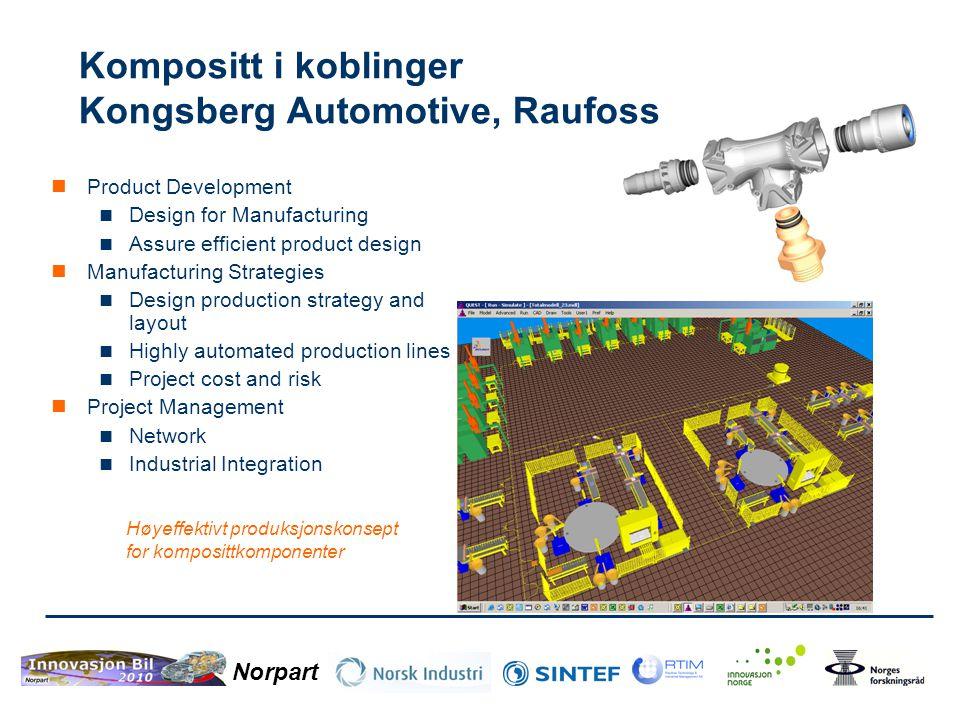 Norpart Polycrach, Plasto  Målet er å utvikle autovernstolper i plast.