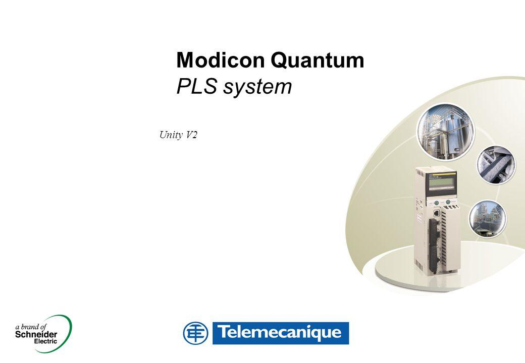 Unity V2 Modicon Quantum PLS system