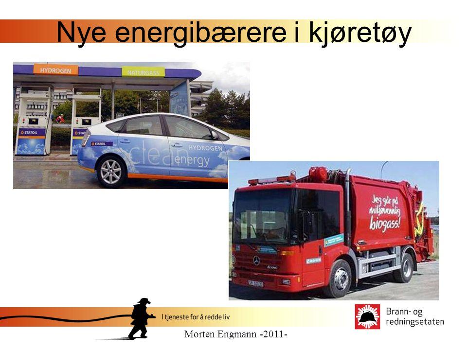 Nye energibærere Formålet er å få bilindustrien, DSB og landets brannvesen til å utveksle kunnskap om branner i kjøretøy.