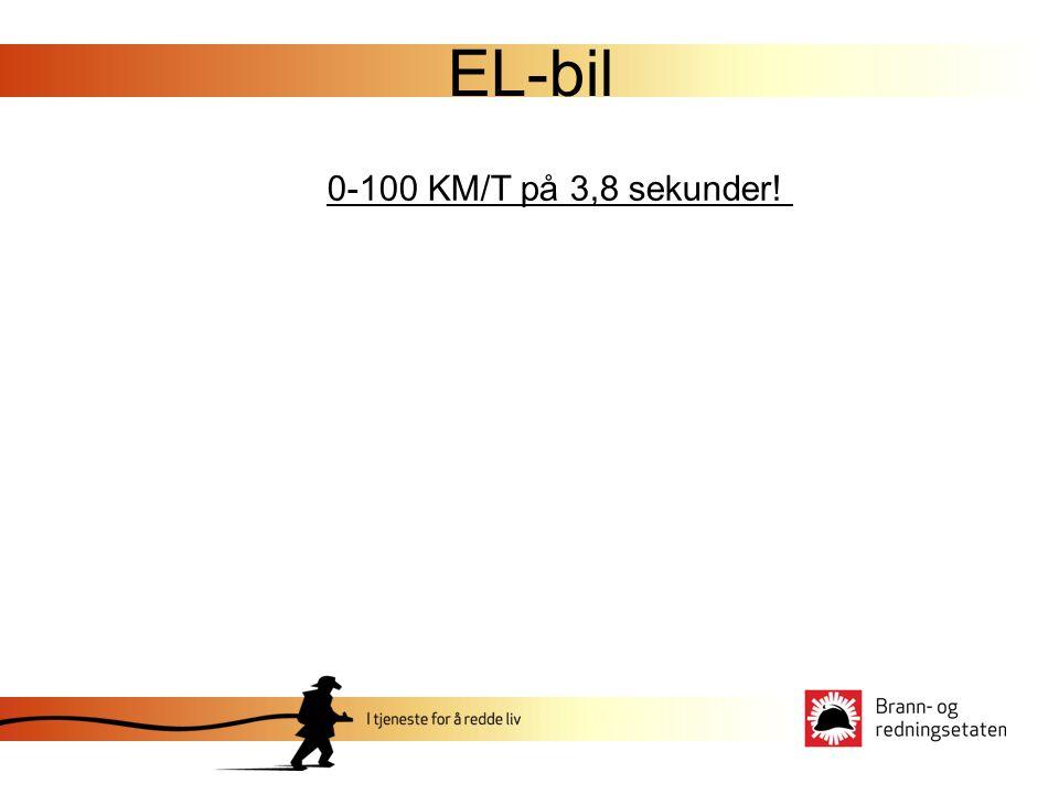 EL-bil 0-100 KM/T på 3,8 sekunder!