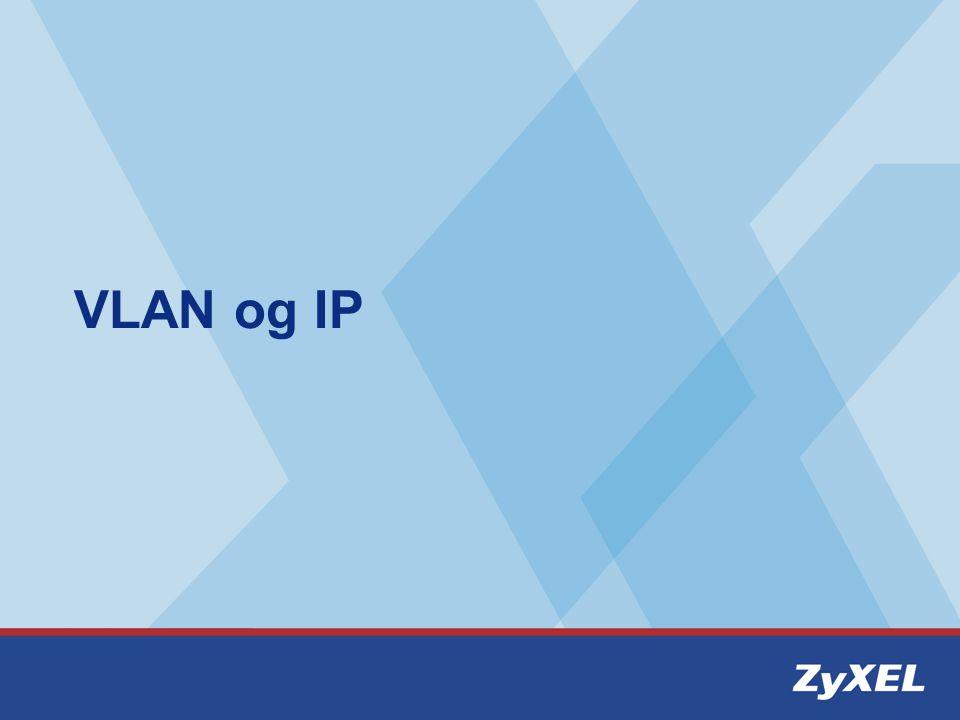 VLAN og IP