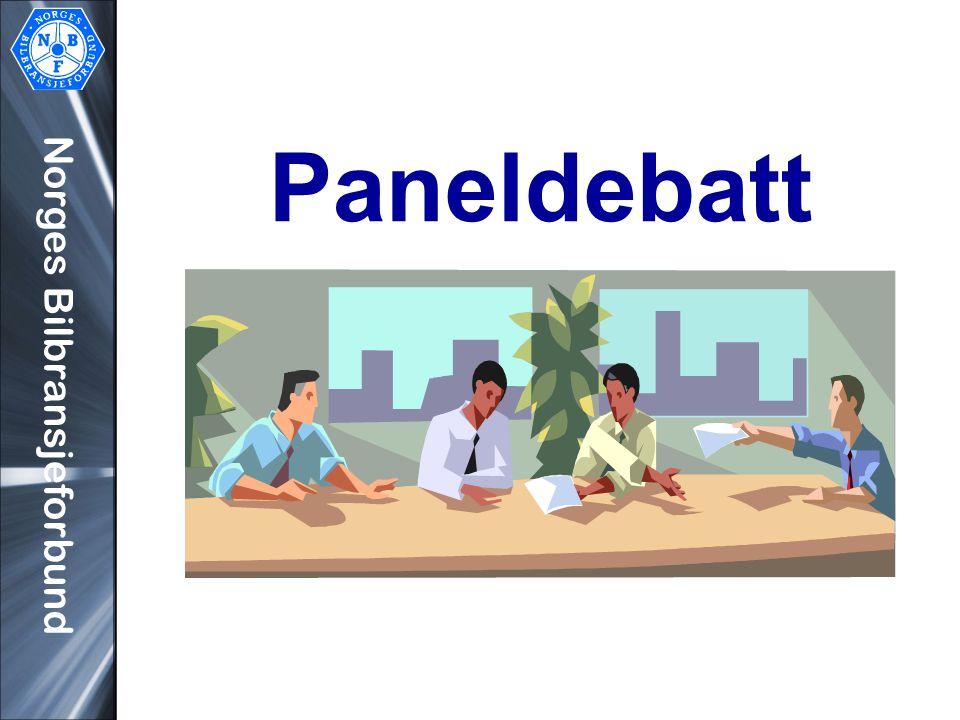 Norges Bilbransjeforbund Paneldebatt
