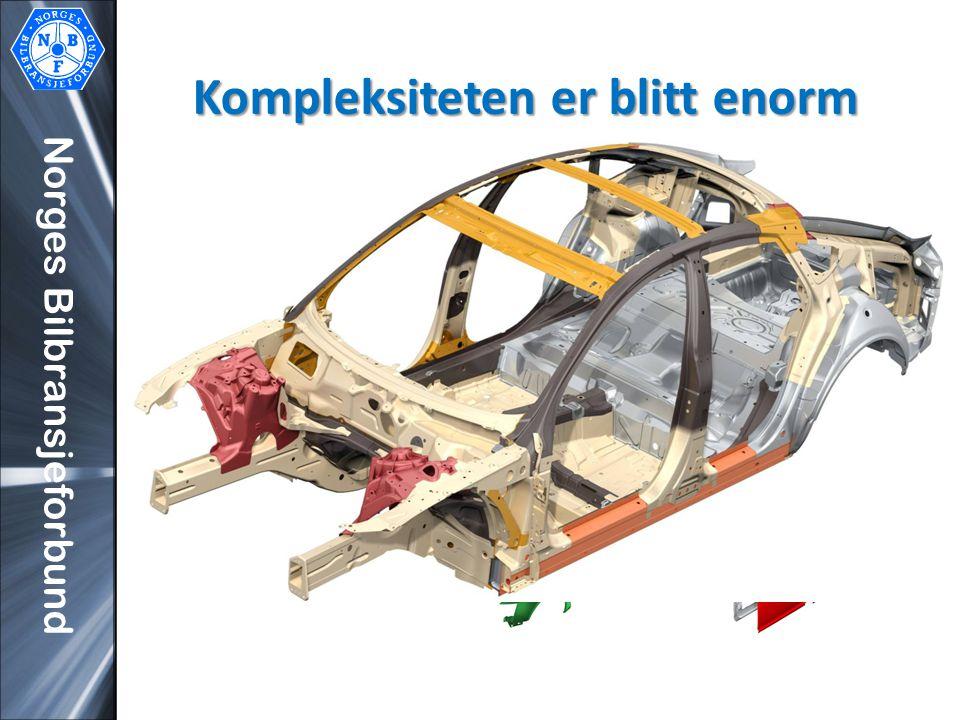 Norges Bilbransjeforbund Kompleksiteten er blitt enorm