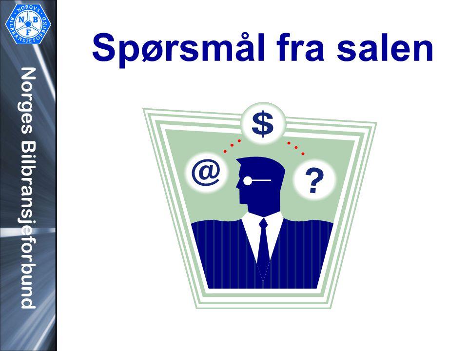 Norges Bilbransjeforbund Spørsmål fra salen