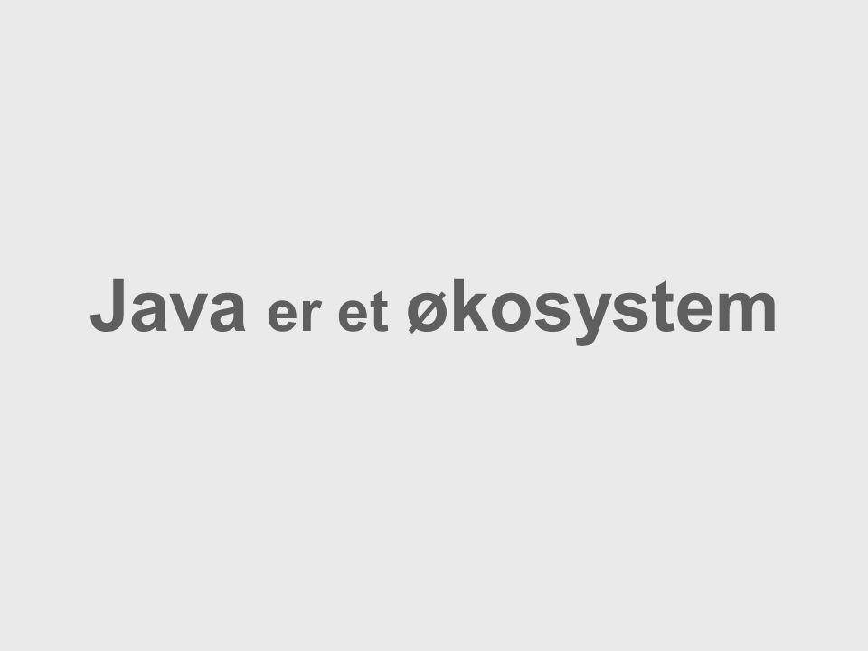 Java er et økosystem