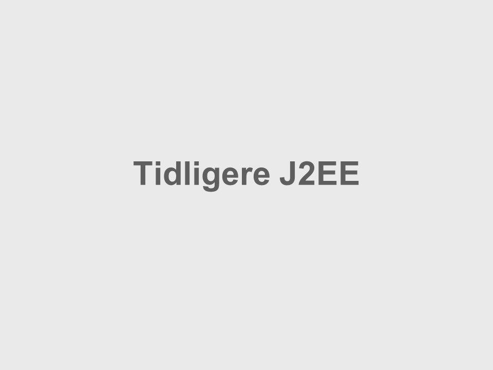 Tidligere J2EE