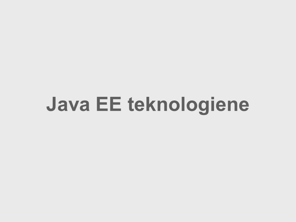 Java EE teknologiene