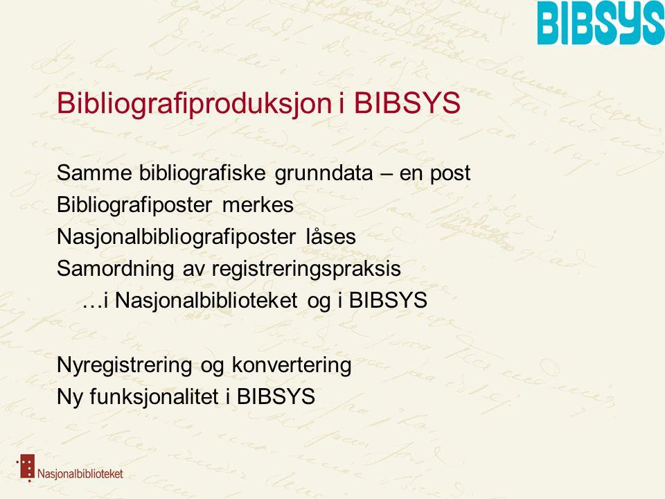 Bibliografier i BIBSYS Hamsun-bibliografi, 2009 Samisk bibliografi, 2010 Bjørnson-bibliografi, 2010 Norbok, 2010/2011 osv.…