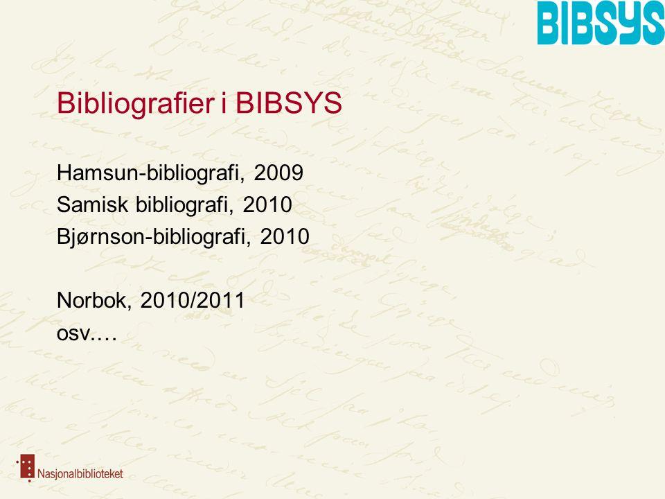 Bruk av data fra eksterne kilder … fra Biblioteksentralen (katalogdata) … fra NRK (digital lyd og katalogdata) … fra utgivere