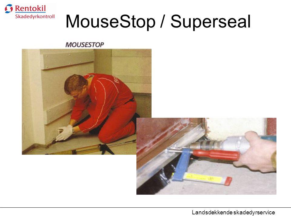 MouseStop / Superseal Landsdekkende skadedyrservice