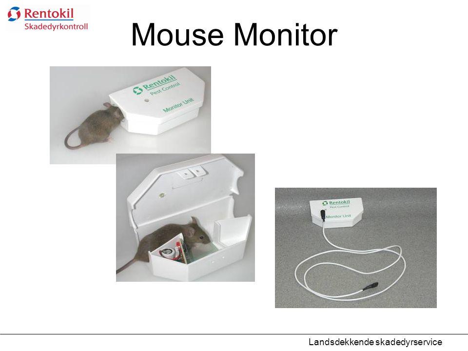 Mouse Monitor Landsdekkende skadedyrservice