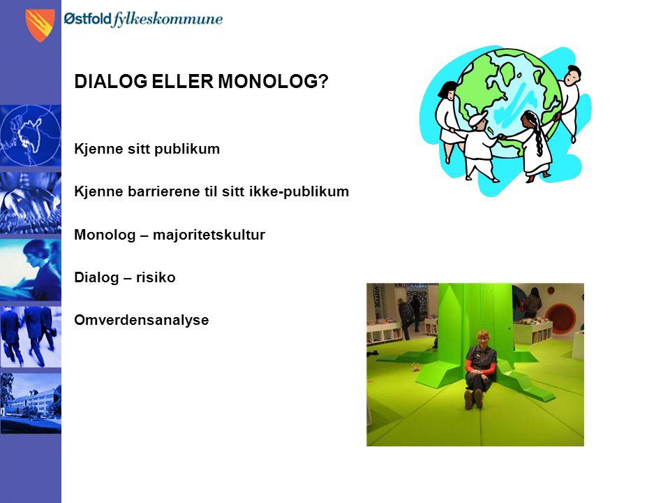 DIALOG ELLER MONOLOG.