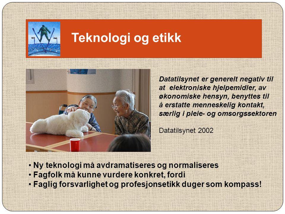 Teknologi og verdighet Gjetning..