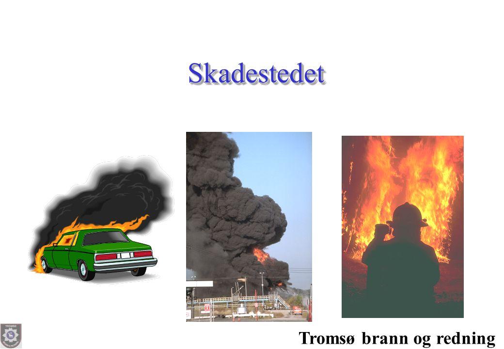 Tromsø brann og redning SkadestedetSkadestedet