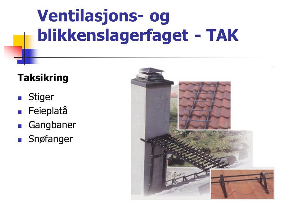 VENTILASJONS- OG BLIKKENSLAGERFAGET Verkstedarbeid:  produksjon av beslag  produksjon av takhatter  produksjon av tilpasningsdeler (ventilasjon)  produksjon av spesialkomponenter  kundebehandling/rådgivning Bli blikkenslager og vær med å Bygge Norge