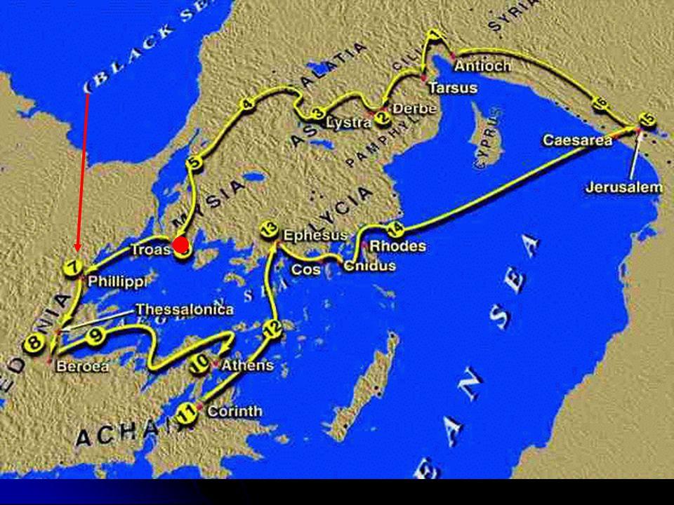 Godt Håp Januar 2008Eivind Rognsvåg4  Det var her Paulus og Silas ble kastet i fengsel, og Gud utfridde dem.