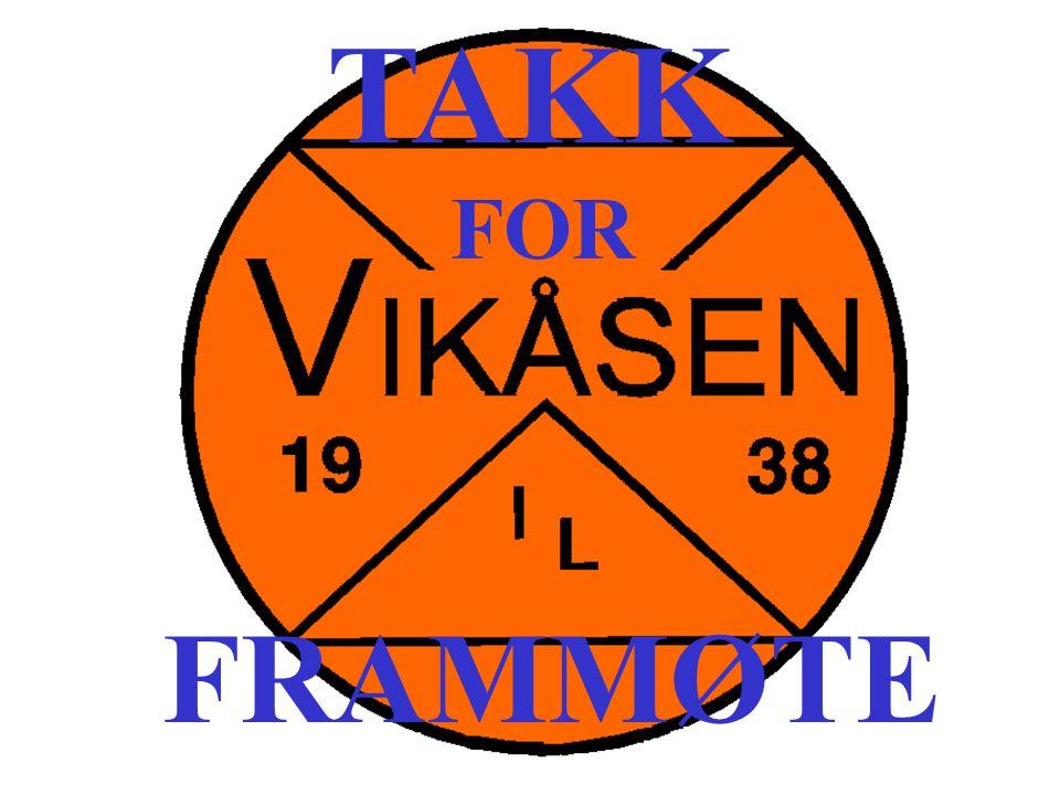TAKK FOR FRAMMØTE
