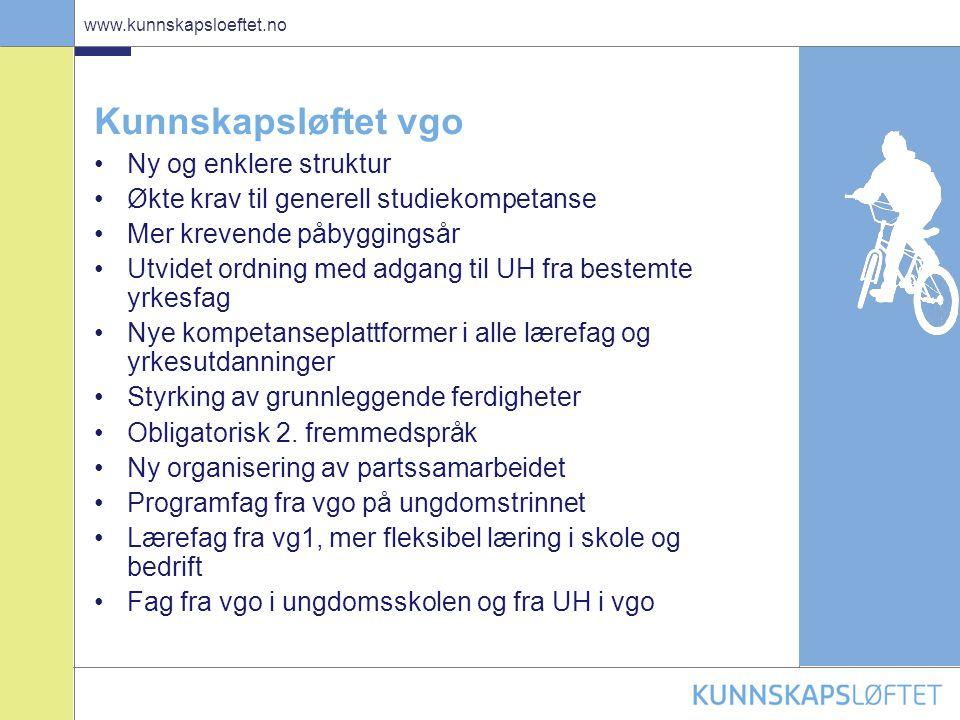 7 www.kunnskapsloeftet.no Styrking av realfagene • Realfag, naturligvis.