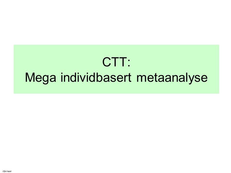 CTT: Mega individbasert metaanalyse KEArnesen