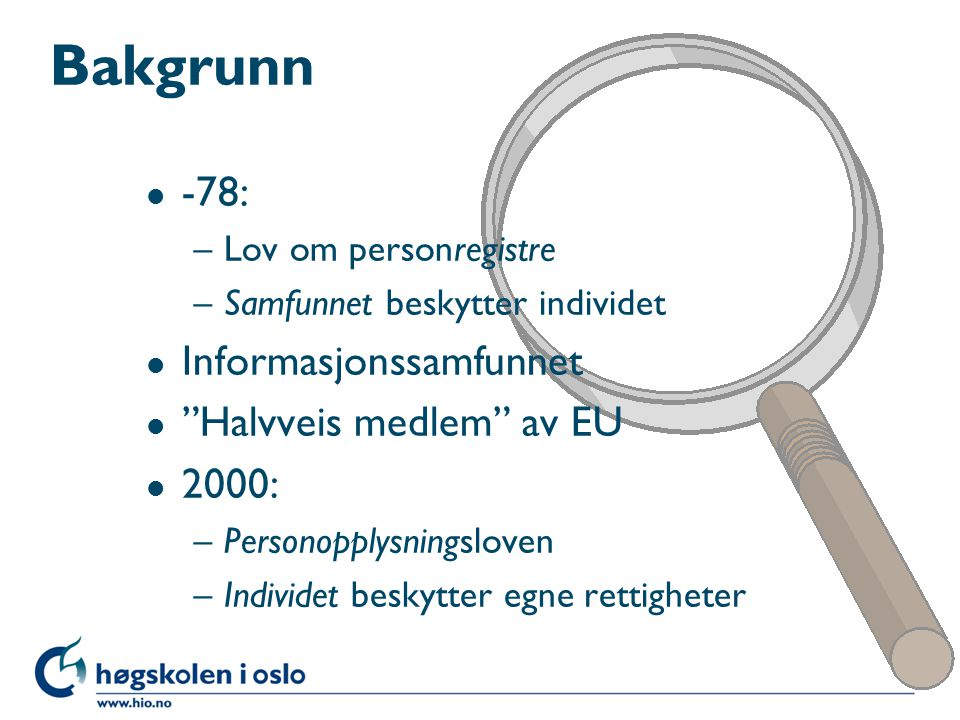 l Styringsrett kontra personvern l Privat og arbeidsrelatert post l Situasjoner som sykdom eller mistenkt illojalitet l Det skal foreligge regler og avtaler http://www.printernorge.no/salg/produkter/lexmark_tonerdrum/