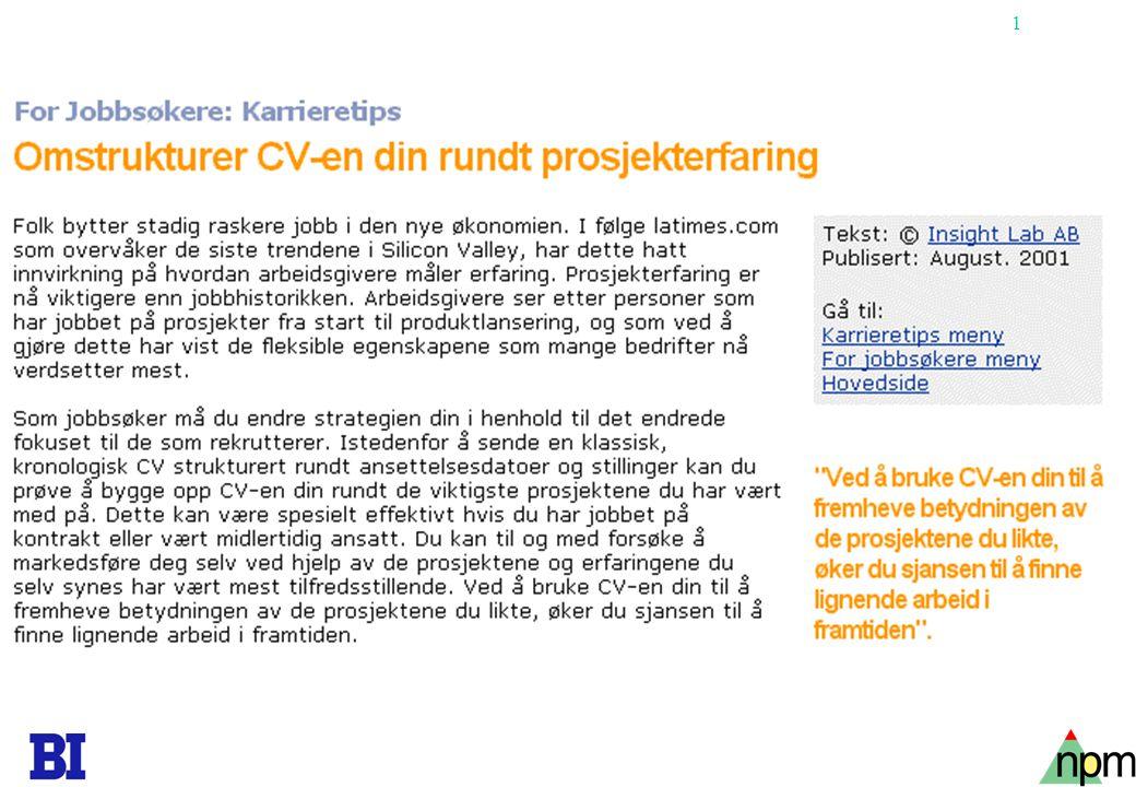1 Copyright Tore H. Wiik