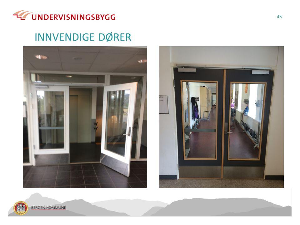 INNVENDIGE DØRER 45