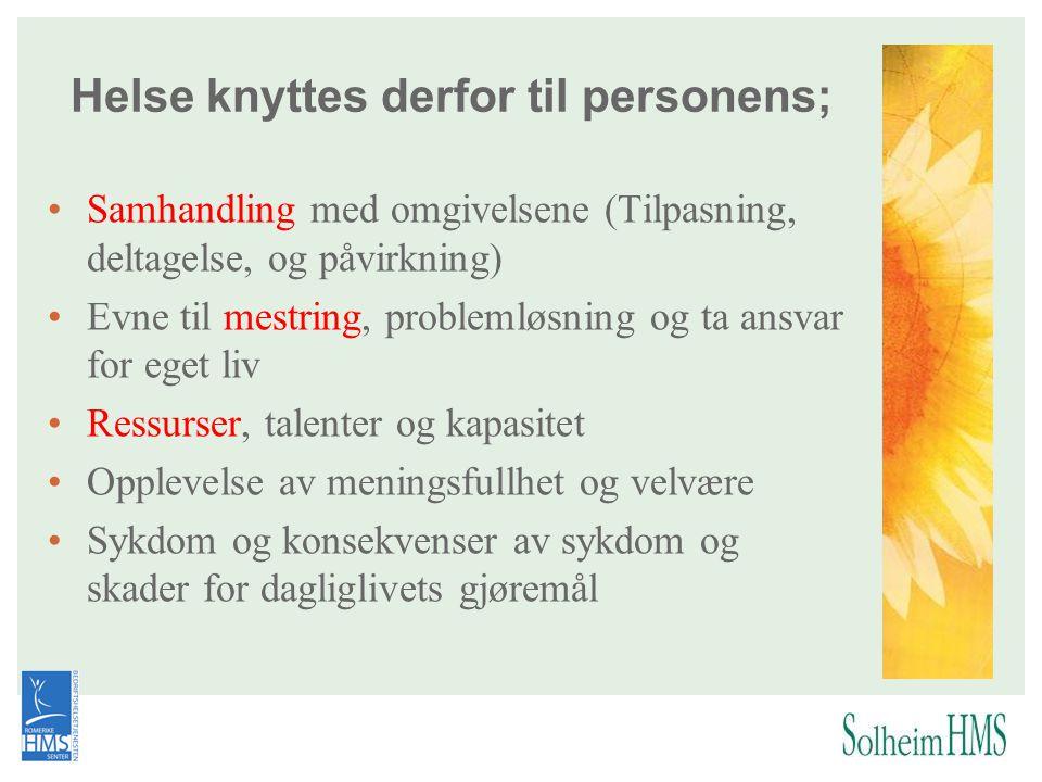 krav jobbkrav fritid Personlige gjøremål www.funksjonsvurdering.no