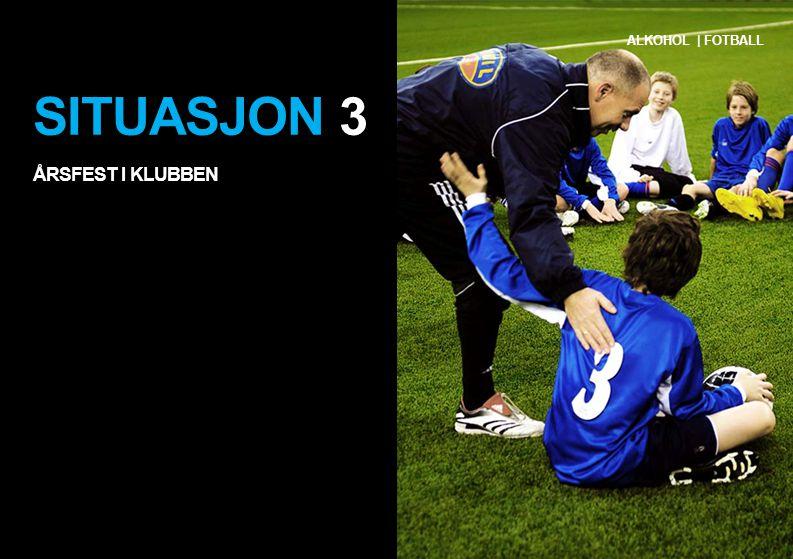 SITUASJON 3 ÅRSFEST I KLUBBEN ALKOHOL | FOTBALL