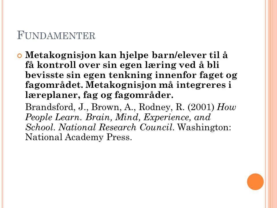 H VA SIER S T.MELDING NR. 30 (2003-2004) I K ULTUR FOR LÆRING .