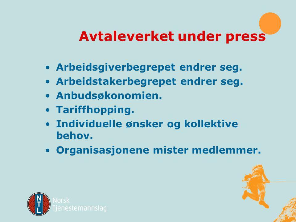 Endrede ansettelsesforhold Svenske prognoser hevder at fast ansettelse – kjernearbeidskraften – vil omfatte ca 40%.