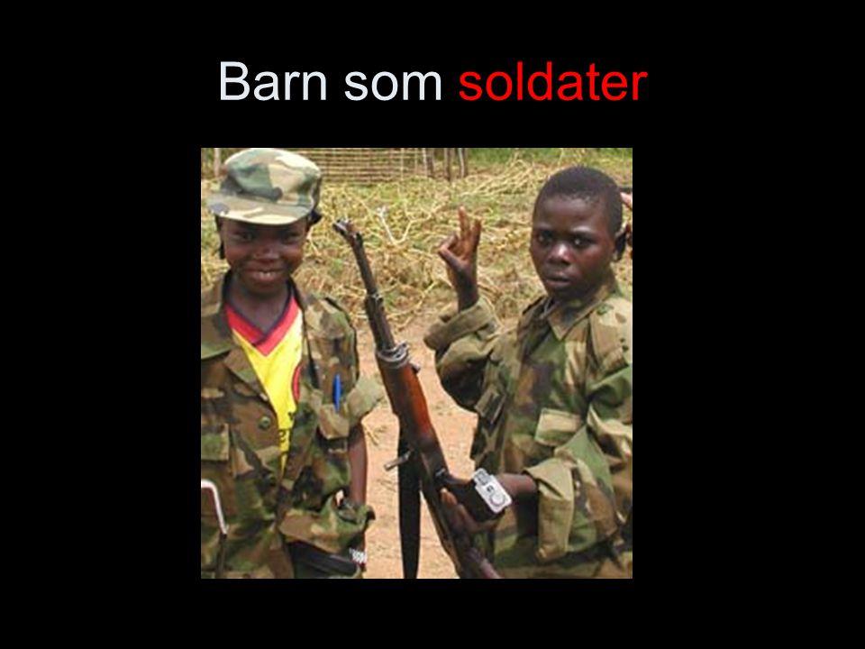 Barn som soldater
