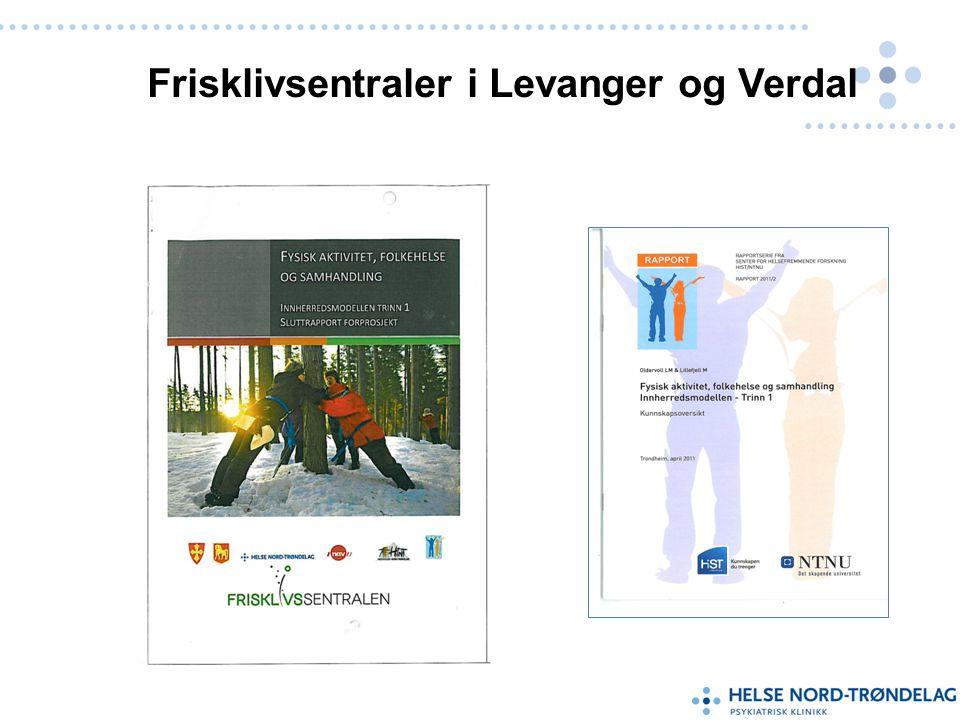 Frisklivsentraler i Levanger og Verdal