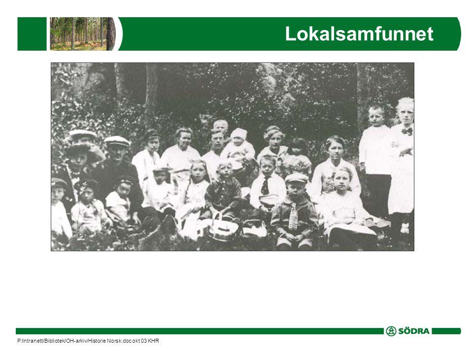 Lokalsamfunnet P:Intranett/Bibliotek/OH-arkiv/Historie Norsk.doc okt 03 KHR