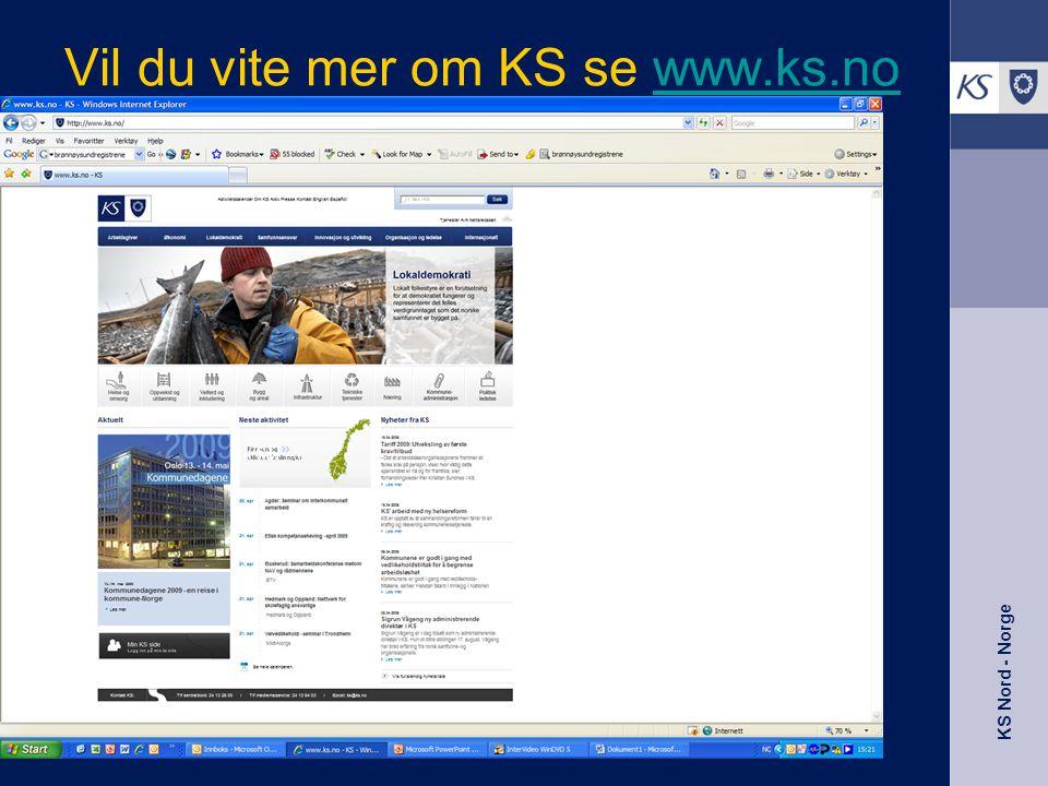 Vil du vite mer om KS se www.ks.nowww.ks.no