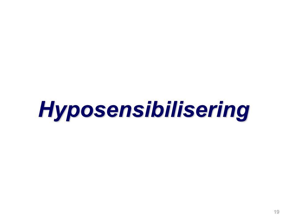 19 Hyposensibilisering