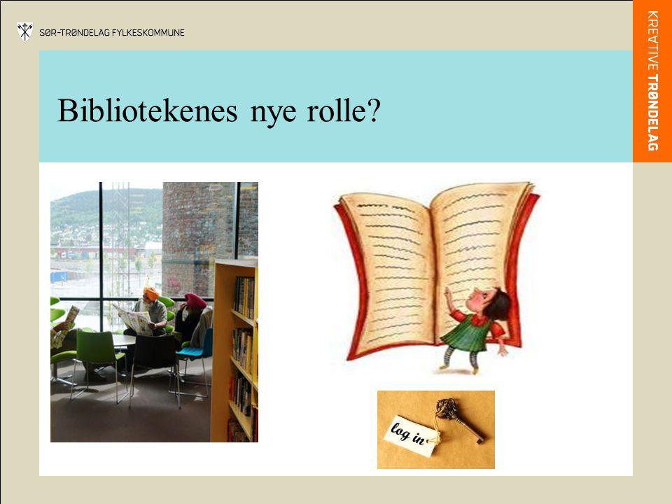 Bibliotekenes nye rolle?