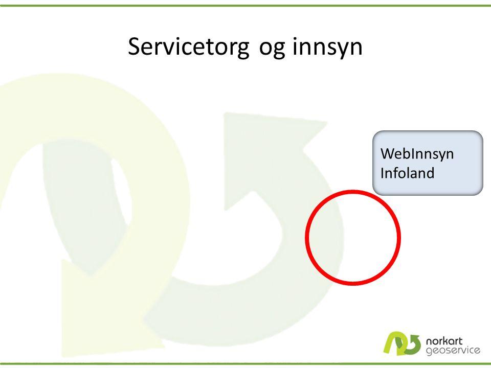 Servicetorg og innsyn WebInnsyn Infoland