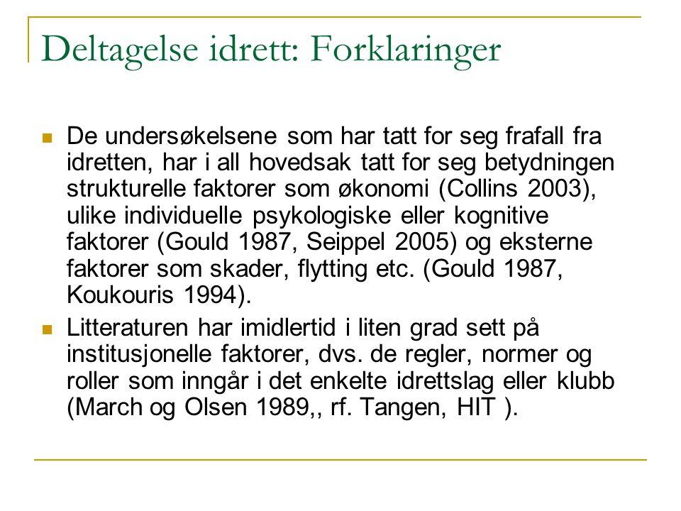 Gradientutfordringen Det finnes omfattende dokumentasjon på at det eksisterer betydelige sosiale ulikheter i helse i Norge som danner mønster av en gradient gjennom hele befolkningen.