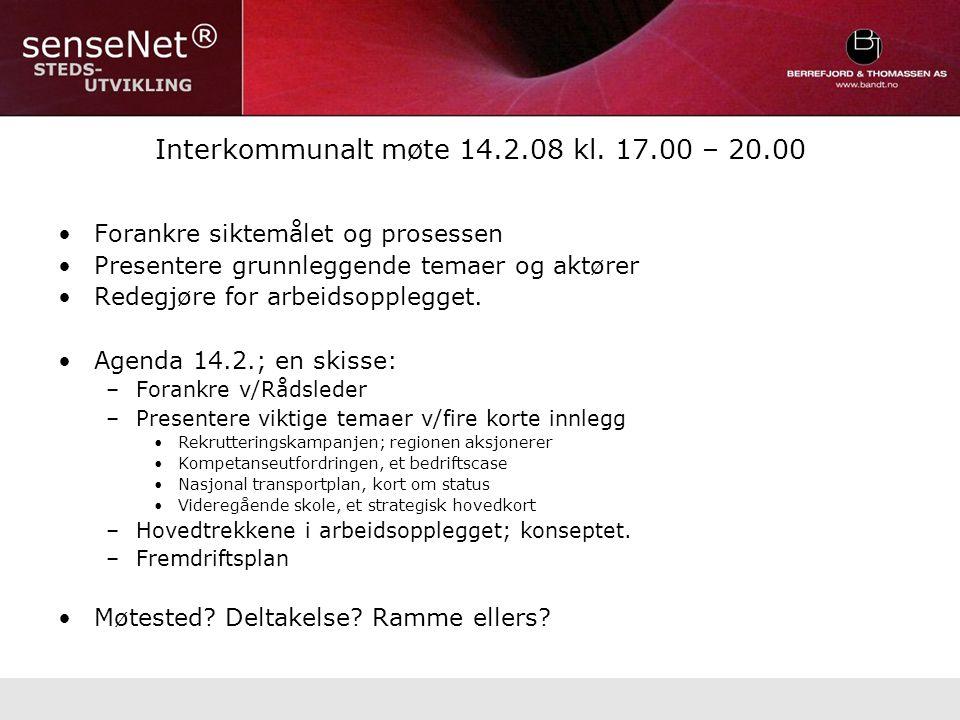 Interkommunalt møte 14.2.08 kl.