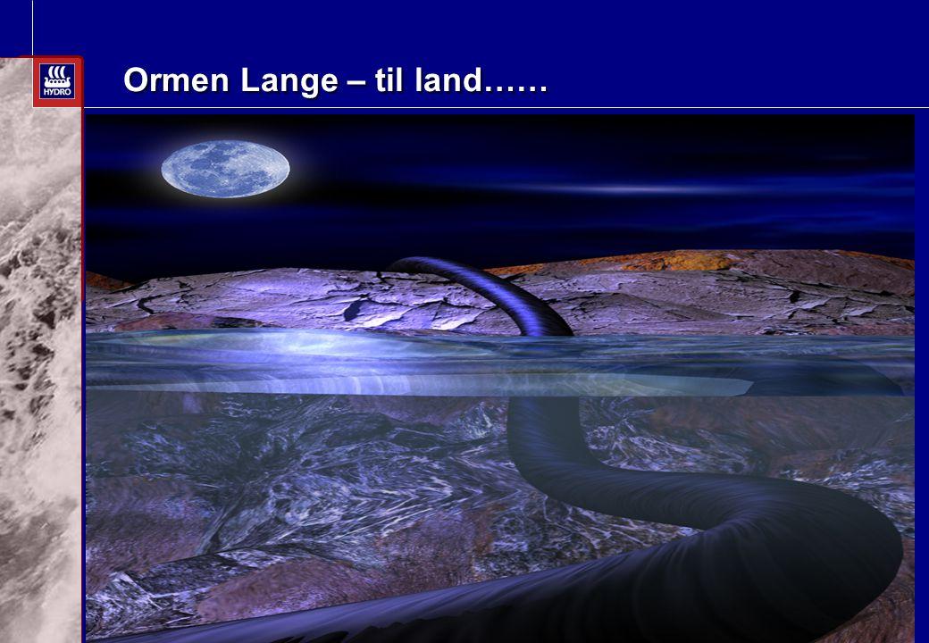 Date: 2003-02-02 - Page: 1 Ormen Lange – til land…… Anskaffelsesstrategi for landanlegget