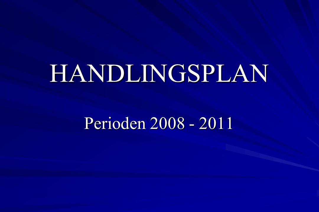 HANDLINGSPLAN Perioden 2008 - 2011