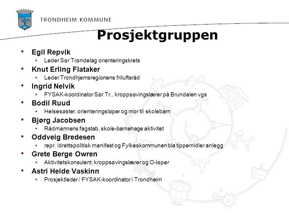 Koordinere, utvikle nye og tilby aktiviteter i natur og nærmiljø til skoler og barnehager, etter modell av Den kulturelle skolesekken, som pilot i Trondheim med plan for utvidelse. Dette er i tråd med Bystyrets vedtak om at det skal være (1 time) fysisk aktivitet i skolen.