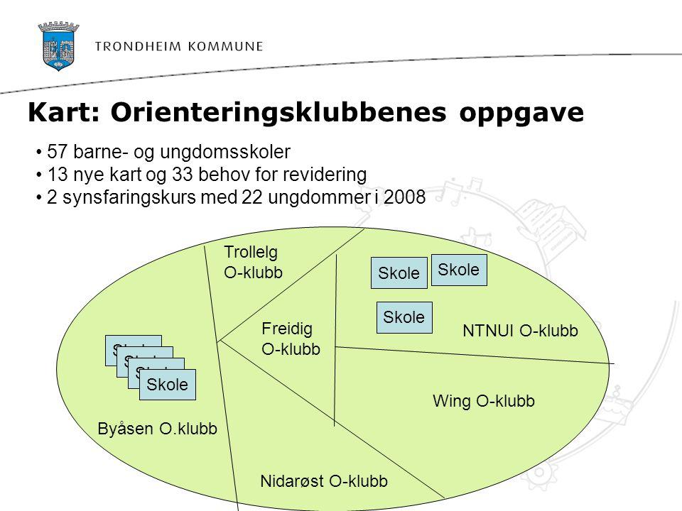 Trondheim blir først i verden med skolekart til alle grunnskolene  www.stfk.no/denfysiskeskolesekken www.stfk.no/denfysiskeskolesekken Se innhold i sekken Last ned kartet til din skole ……..gratis!!!