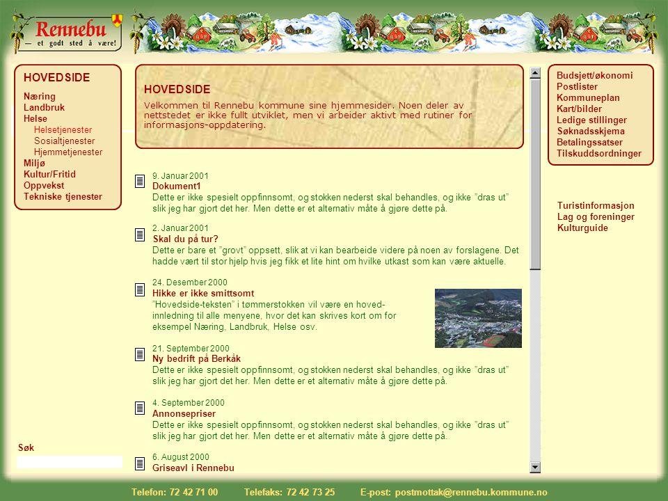 """9. Januar 2001 Dokument1 Dette er ikke spesielt oppfinnsomt, og stokken nederst skal behandles, og ikke """"dras ut"""" slik jeg har gjort det her. Men dett"""