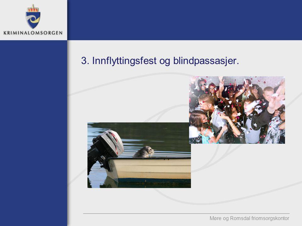 3. Innflyttingsfest og blindpassasjer. Møre og Romsdal friomsorgskontor